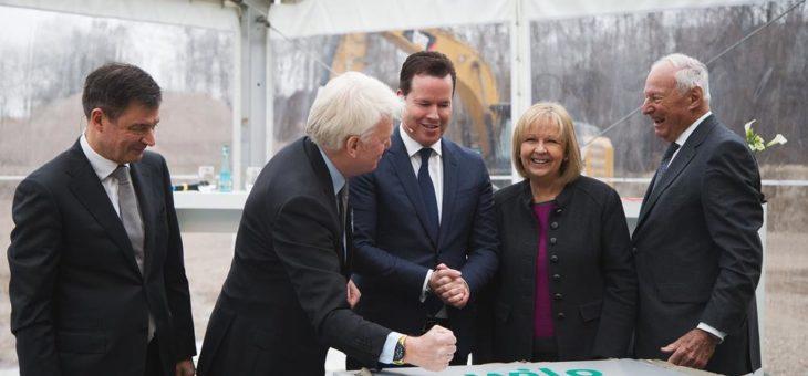 Feierlicher Start der Baumaßnahmen zur Smart Factory mit NRW Ministerpräsidentin Hannelore Kraft