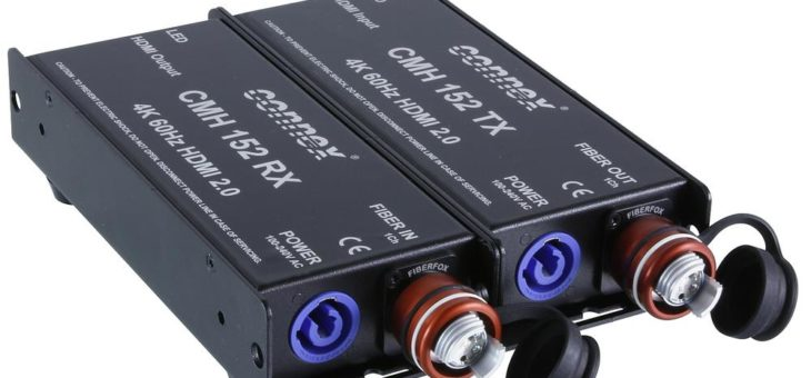 4K@60Hz Konverter FIBERFOX HDMI2.0 neu im Lieferprogramm