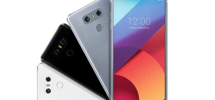 LG G6 gibt Nutzern großes Display in die Hand