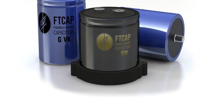 Aluminium-Elektrolytkondensatoren mit Gewindeanschluss von FTCAP