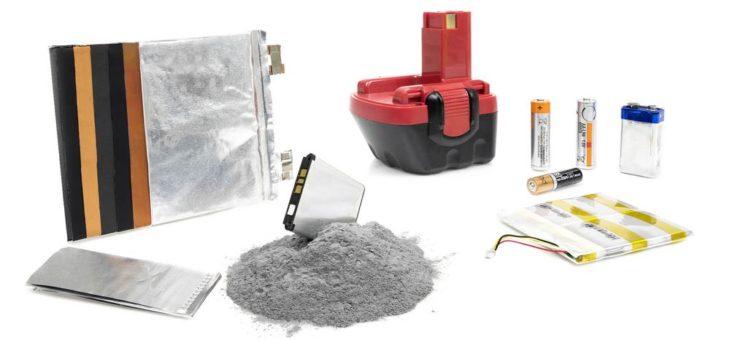Homogenes Pulver für Batteriefertigung