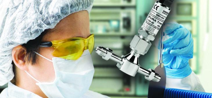 Spurenfeuchte Transmitter für die hochpräzise Messung in Reinstgasen