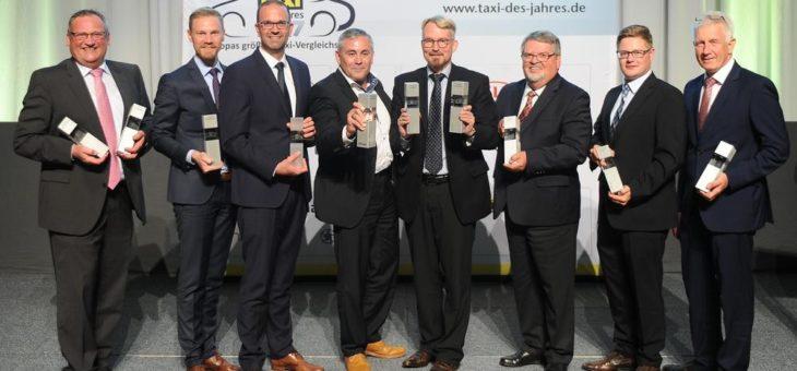 """Taxiunternehmer wählen die """"Taxis des Jahres 2017"""""""