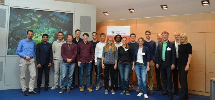 In der Höhle der Löwen: Fabspace und Software AG stellen Gewinner des Startup-Wettbewerbs für Geodaten vor