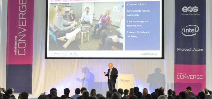 Converge kehrt nach Europa zurück: Produktentwickler untersuchen auf der Converge 2017 in Essen die Schnittmenge zwischen Design und Technologie