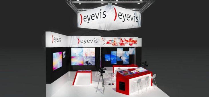 eyevis präsentiert innovative Displaytechnik auf der IBC 2017