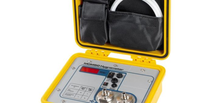 Kompaktes portables Hygrometer für die schnelle und einfache Drucktaupunktmessung