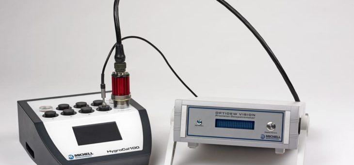 Rückführbare Feuchte Kalibrierungen mit dem portablen HygroCal100 gegen eine qualifizierte Referenz