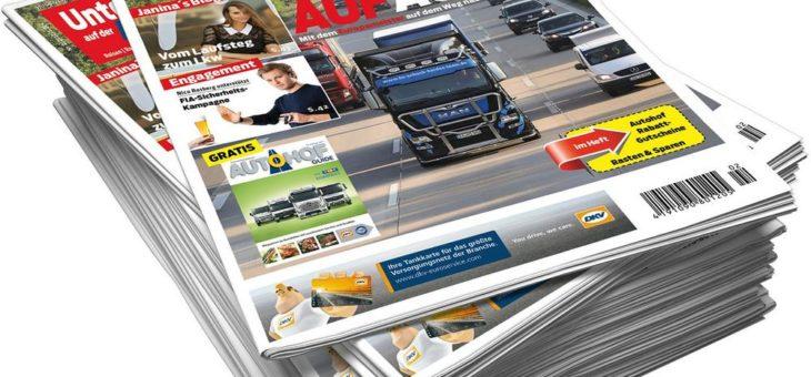 Unterwegs auf der Autobahn Nummer 2 – Verstärkung der Autohof Informationen