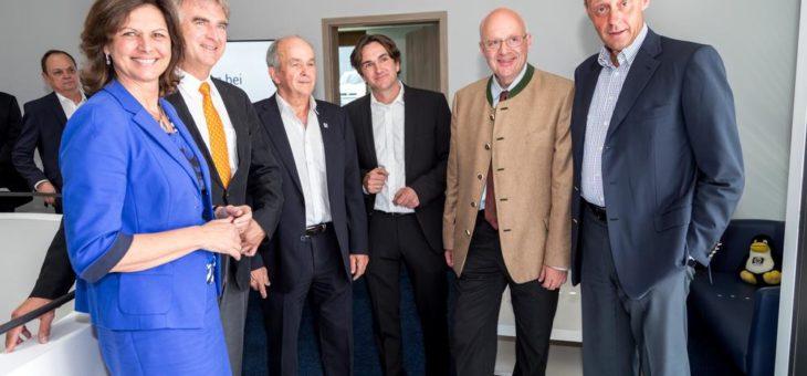 Die SEP AG zieht nach Holzkirchen und erhält prominenten Besuch