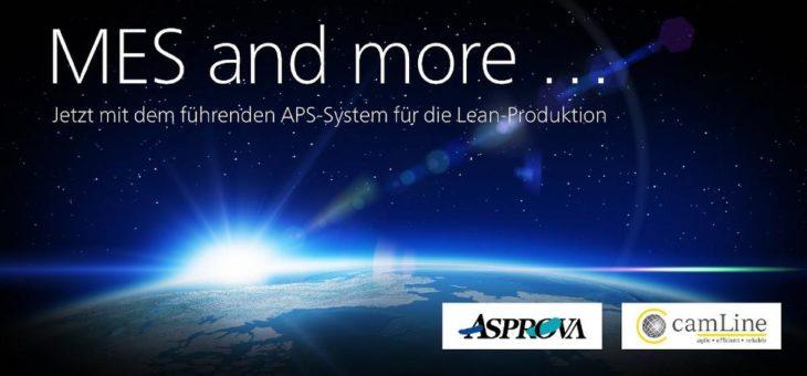 camLine als bekannter MES Anbieter wird zum Partner der Asprova AG
