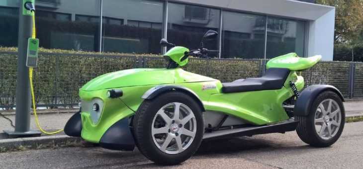 Mobilitätsentwickler AtTrack begeistert mit innovativem E-Fahrzeugkonzept