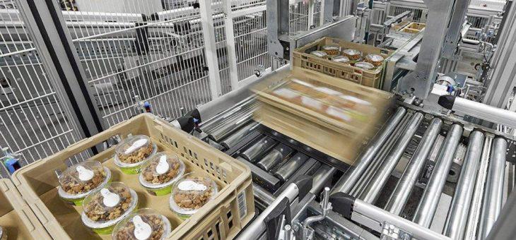 Maximale Flexibilität und Wirtschaftlichkeit für Convenience-Logistik