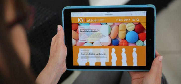 wdv-Gruppe launcht KVH aktuell Pharmakotherapie jetzt auch als WebMagazin