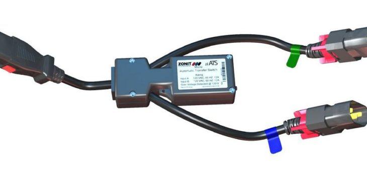 Doppelt doppeltsicher: Redundante Stromversorgung zum Nachrüsten mit in allen Kabeln integrierten Anschlusssicherungen