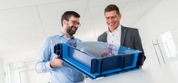 Wirtschaftliche E-Mobilität: thyssenkrupp stellt auf der Blechexpo 2017 ein gewichts- und kostenoptimiertes Batteriegehäuse zum Schutz der Fahrzeugbatterie vor