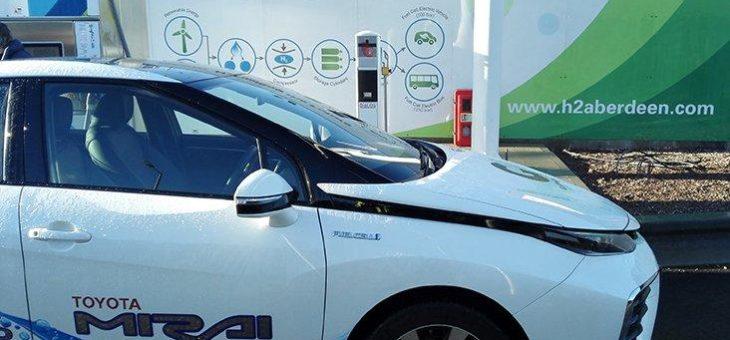 Grüne Energie und Wasserstoffmobilität