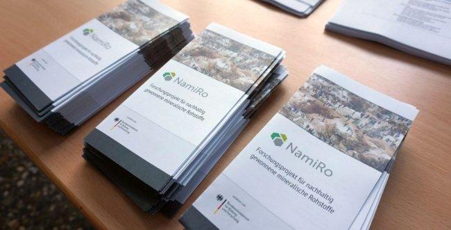 """Forschungsprojekt """"Nachhaltig gewonnene mineralische Rohstoffe"""" (NamiRo)"""