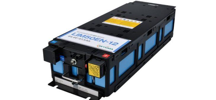 Lithium-Ionen-Batteriemodul die sich sich zu großen Energiespeichersystemen zusammenschließen lassen