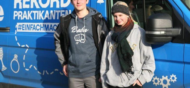 Gut zu Fuß: Rekordpraktikanten machten Station in Heidelberg