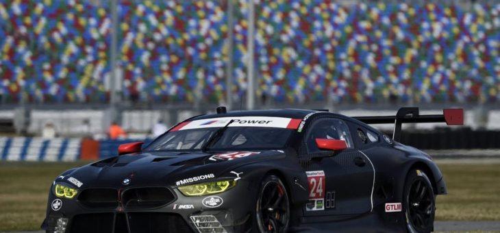 Daytona-Generalprobe für den neuen BMW M8 GTE – Joel Eriksson und Bruno Spengler beim Formel E Rookie-Test im Einsatz