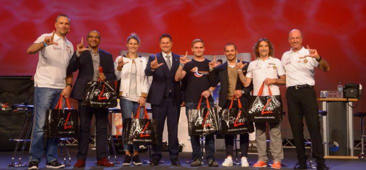 Erfolgreiche Zusammenarbeit mit dem Deutschen Leichtathletik-Verband