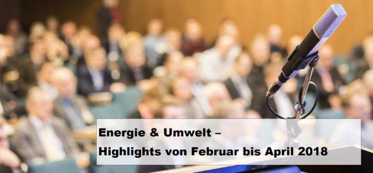 Herausforderungen der Energiebranche – Neue Veranstaltungen und aktuelle Termine