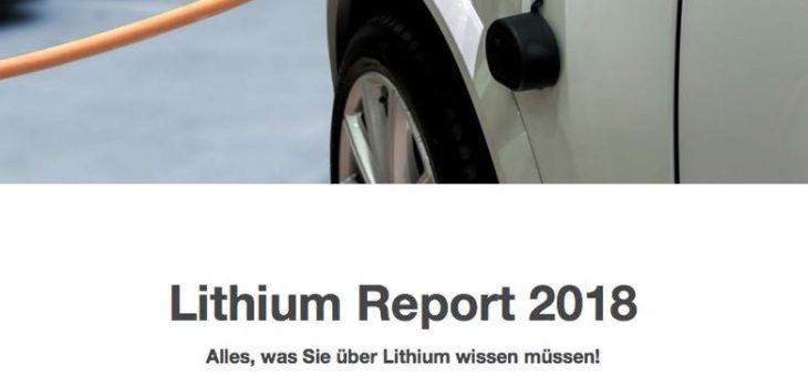 Lithium und Cobalt im Fokus auch 2018!