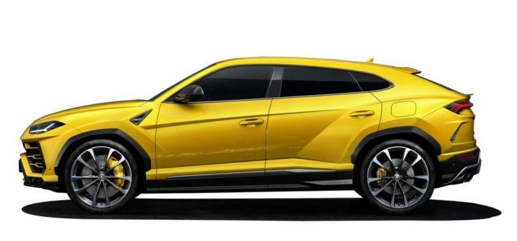 Sechs unterschiedliche Reifen für den neuen Lamborghini Urus