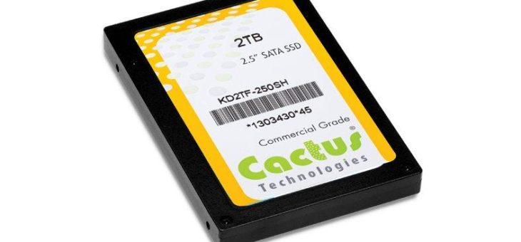 Wahre Größe: Industrielle 2,5-Zoll-Karten mit einer Speicherkapazität von 8 Terabyte