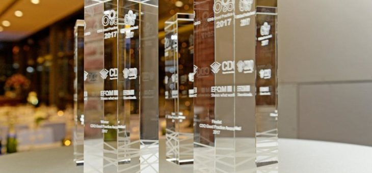 Geberit erhält  CDQ Good Practice Award  für exzellentes Datenmanagement