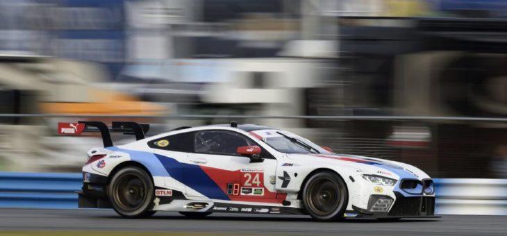 Podium für den BMW M4 GT4 bei der USA-Premiere – Joel Eriksson beim Race of Champions