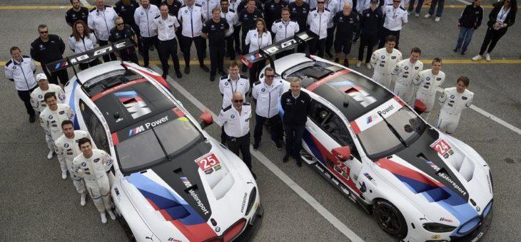 BMW M8 GTE meistert Rennpremiere in Daytona