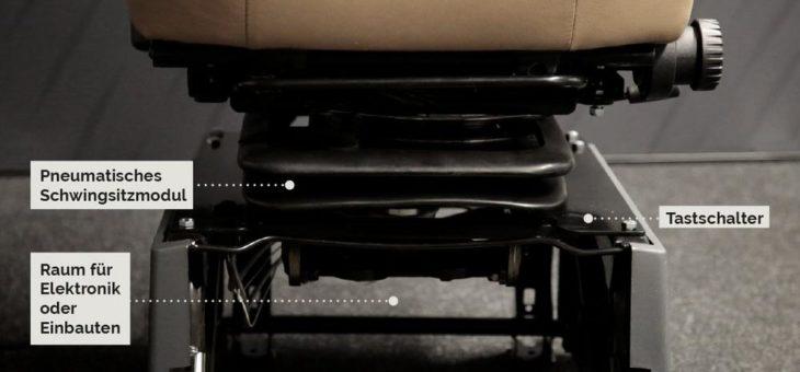 Erste Luftfederung mit M1/N1-Zulassung