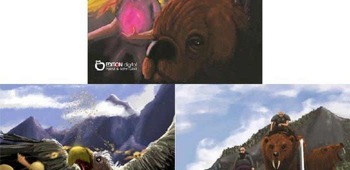 Der große Kampf gegen Kaduro, den Herrscher der Halbwelt – Teil 2 der Nadja-Kirchner-Fantasy-Reihe bei EDITION digital
