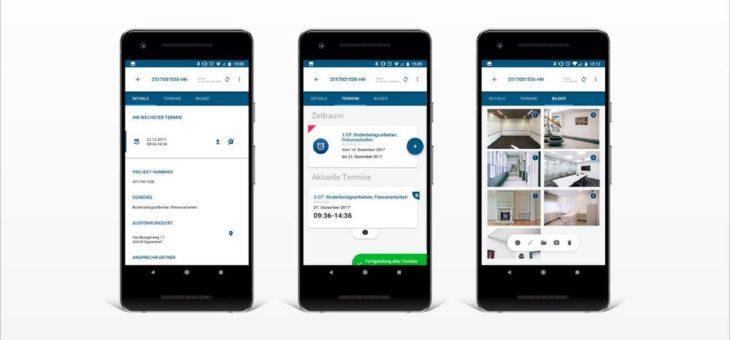 medialesson führt bei Sprint Sanierung erfolgreich mobile Cross-Plattform Apps für die Immobilienbranche ein