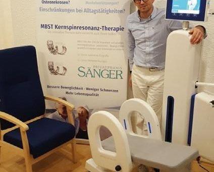 Neuer MBST High-Tech Arthrose-Behandlungsplatz ab sofort in Wuppertal