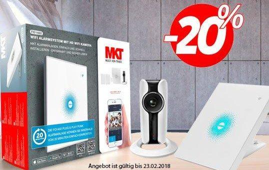 20% Rabatt für WiFi Alarmanlage FO1402 bei Multi Kon Trade