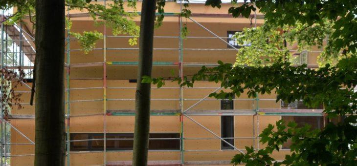 Dreifach natürliche Fassaden- und Gefachdämmung