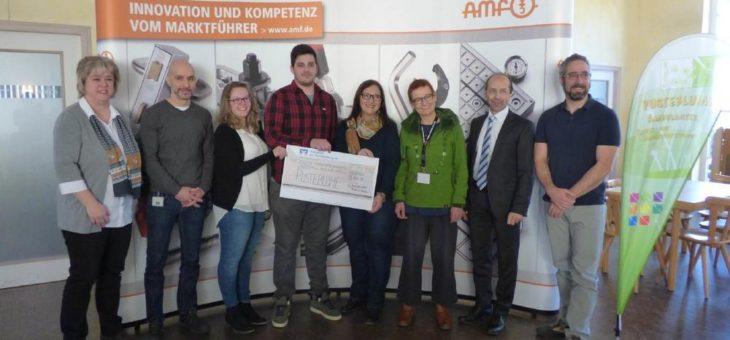 Pusteblume erhält Rekordspende der AMF-Azubis