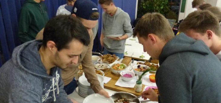 Halbzeit: Volleyballer des ASV Dachau essen seit sechs Wochen vegan und fühlen sich fit!