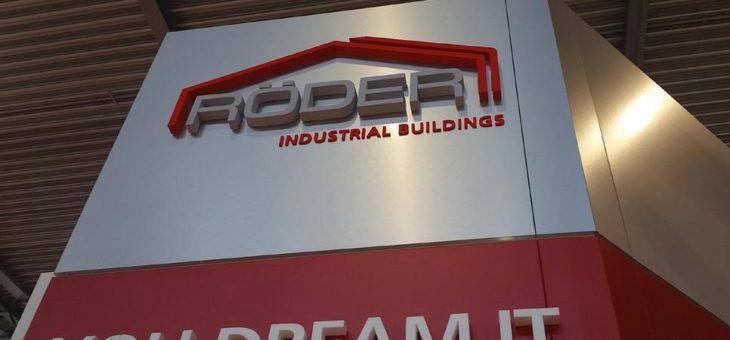 RÖDER Group präsentiert funktionale Hallensysteme für alle Industriebereiche