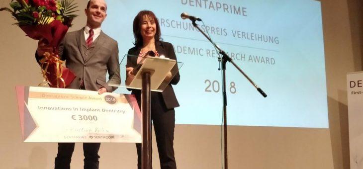 Dentaprime Forschungspreis Zahnmedizin 2018 geht nach Aachen!