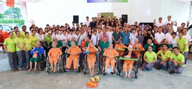Logwin Singapur: Charity Event im Lee Ah Mooi Seniorenheim