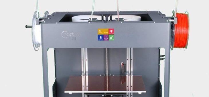 Eine kleine Oster-Überraschung: CraftUnique CraftBot 3 – Dual Extruder 3D-Drucker made in Europe ab jetzt im RUHRSOURCE Online-Shop
