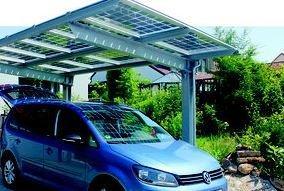 Der Solar Carport Konfigurator ist da