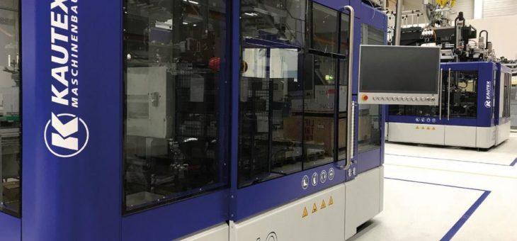 Kautex Maschinenbau mit KBB-Flaschenmaschine auf der NPE 2018