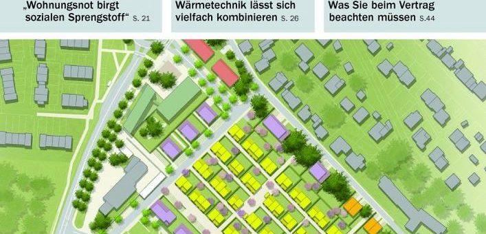 In Kommunen muss Wohnungsbau Chefsache sein