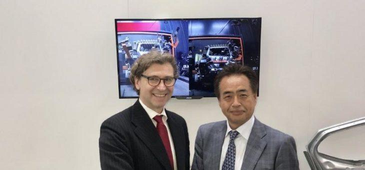 Ausgezeichnete Unterstützung für japanische Laser-Schweiß-Anwendungen