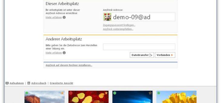 Sitzungsaufzeichnung, komfortabler Dateitransfer und noch mehr Sicherheit: AnyDesk 4.0 geht an den Start